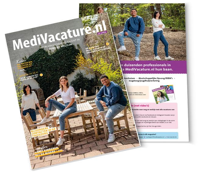 MediVacature magazine, in print en digitaal