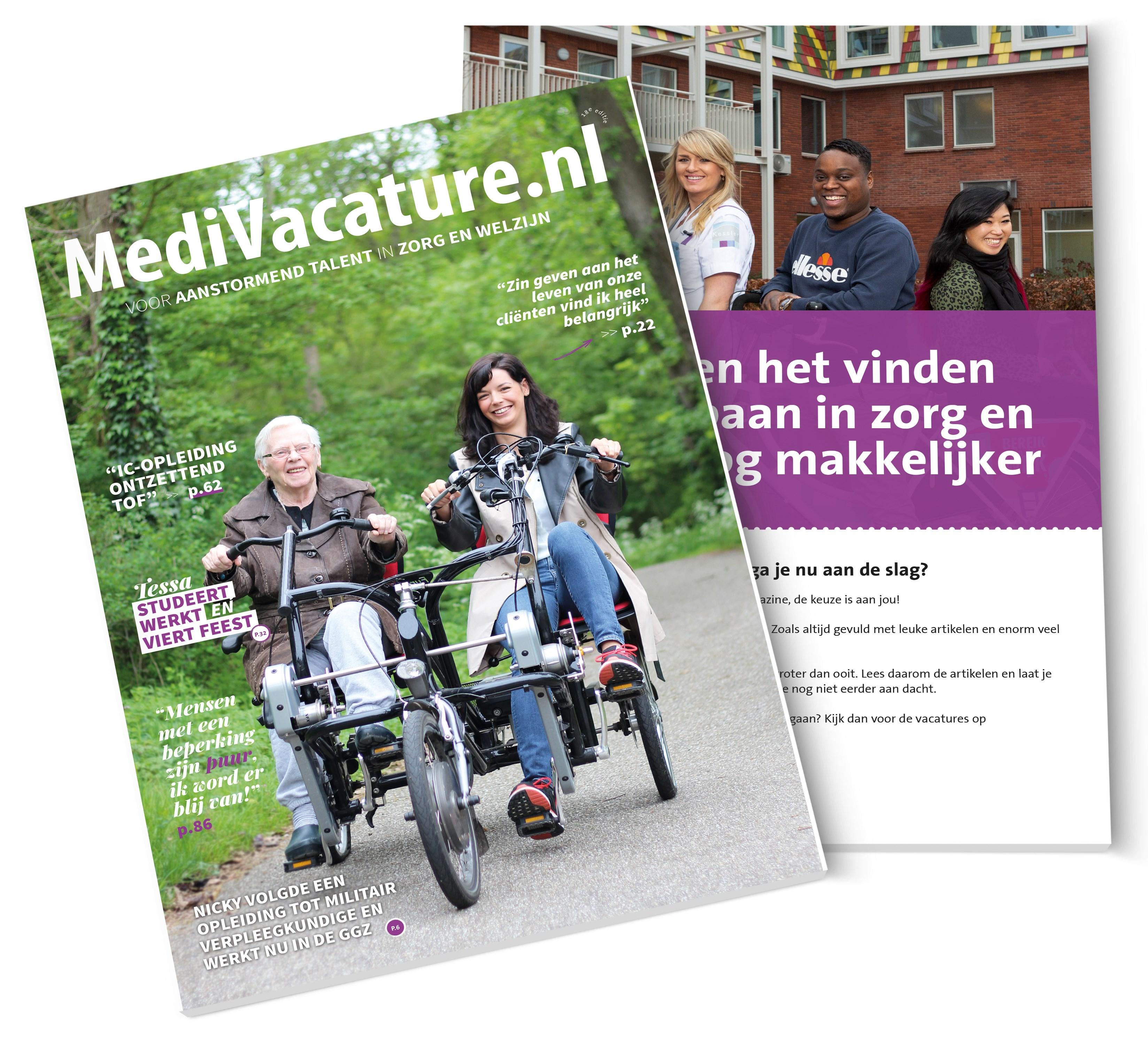 MediVacature carrieremagazine - 18e editie