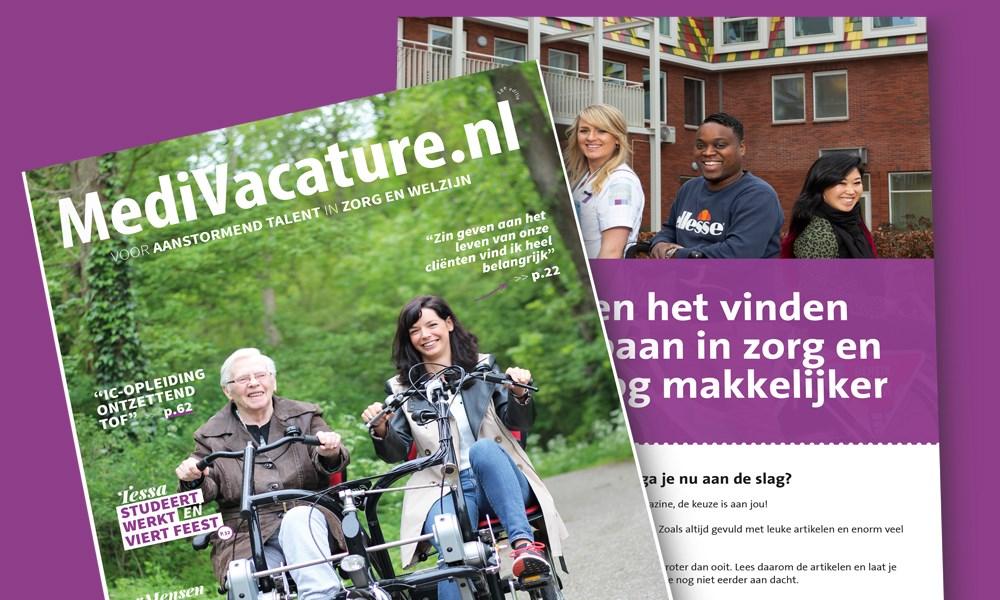 Het nieuwe MediVacature magazine is uit!